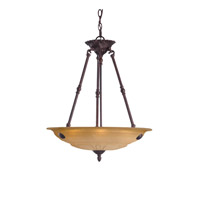 Crystorama Oxford 4 Light Pendant in Venetian Bronze 6304-A-VB photo thumbnail