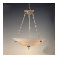 Crystorama Charleston 5 Light Pendant in Antique Silver 6305-AS
