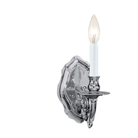 Crystorama Arlington 1 Light Wall Sconce in Pewter 645-PW
