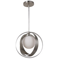 Crystorama 6461-SA Arlo 1 Light 12 inch Antique Silver Mini Chandelier Ceiling Light in Antique Silver (SA)