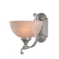 Crystorama Venetian 1 Light Wall Sconce in Satin Brass 6501-SB