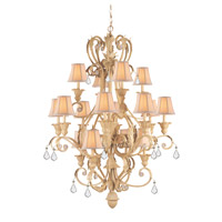 Crystorama Winslow 16 Light Chandelier in Champagne 6610-CM-CL-MWP