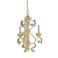 Crystorama Winslow 3 Light Mini Chandelier in Champagne 6803-CM photo thumbnail
