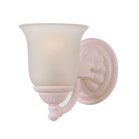 Crystorama Chesapeake 1 Light Bath Light in Blush 681-BH