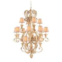 Crystorama Winslow 16 Light Chandelier in Champagne 6810-CM photo thumbnail