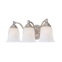 Crystorama Chesapeake 3 Light Vanity Light in Chrome 683-CH