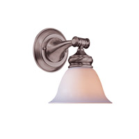 Crystorama Chesapeake Wall Sconce in Satin Nickel 691-SN