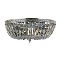 Crystorama Richmond 3 Light Crystal Basket in Polished Chrome 716-CH-CL-MWP
