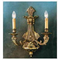Signature 2 Light 14 inch Roman Bronze Wall Sconce Wall Light