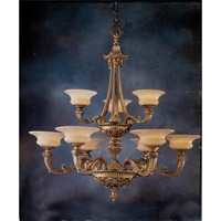 Signature 9 Light 42 inch Roman Bronze Chandelier Ceiling Light