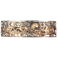 Sterling 4 Light 25 inch Distressed Twilight Vanity Light Wall Light in Hand Cut, Distressed Twilight (DT)