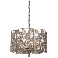 Crystorama 7586-DT Sterling 6 Light 18 inch Distressed Twilight Chandelier Ceiling Light