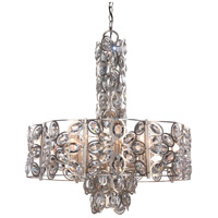 Sterling 8 Light 24 inch Distressed Twilight Chandelier Ceiling Light in Hand Cut, Distressed Twilight (DT)