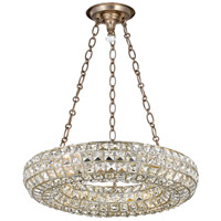 Crystorama 7804-DT Genesis 4 Light 18 inch Distressed Twilight Chandelier Ceiling Light