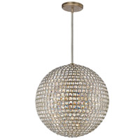 Crystorama 7805-DT Genesis 5 Light 20 inch Distressed Twilight Chandelier Ceiling Light