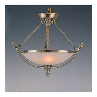 Crystorama Signature 5 Light Pendant in Antique Brass 8104-AB