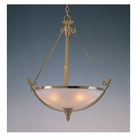 Crystorama Signature 4 Light Chandelier in Polished Brass 8105-PB