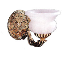 Crystorama Natural Alabaster 1 Light Wall Sconce in Olde Brass 881-OB