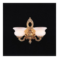 Crystorama Galleria 2 Light Wall Sconce in Olde Brass 882-OB photo thumbnail