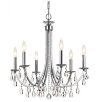 Polished Chrome Bridgehampton Chandeliers