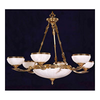 Signature 6 Light 32 inch Olde Brass Chandelier Ceiling Light