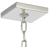 Crystorama 8874-PN Drake 4 Light 12 inch Polished Nickel Chandelier Ceiling Light alternative photo thumbnail