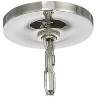 Crystorama 8875-PN Drake 4 Light 21 inch Polished Nickel Chandelier Ceiling Light alternative photo thumbnail