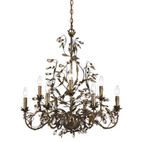 Crystorama Lighting Hot Deal Chandelier in English Bronze 888-P9-EB photo thumbnail