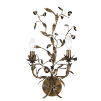 Crystorama Signature Wall Sconce in English Bronze 888-WS2-EB