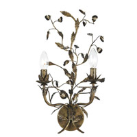 Crystorama Victoria 2 Light Wall Sconce in English Bronze 888-WS2-EB
