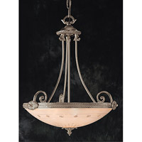 Signature 5 Light 23 inch Pewter Chandelier Ceiling Light