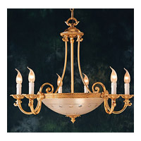 Crystorama Signature 9 Light Chandelier in Olde Brass 9006-OB