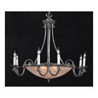 Crystorama 9006-PW Signature 9 Light 30 inch Pewter Chandelier Ceiling Light