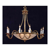 Crystorama Signature 13 Light Chandelier in Olde Brass 9008-OB
