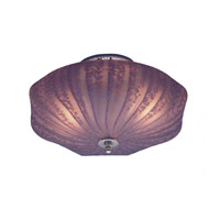 Signature 2 Light 13 inch Polished Brass Semi Flush Mount Ceiling Light in Polished Brass (PB)