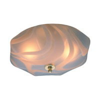 Signature 2 Light 13 inch Polished Brass Flush Mount Ceiling Light in Polished Brass (PB)