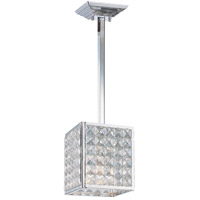 Crystorama Chelsea 1 Light Pendant in Polished Chrome with Hand Cut Crystals 910-CH-CL-MWP