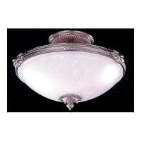 Crystorama Signature Flush Mount in Pewter 9103-PW