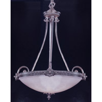 Crystorama 9105-PW Signature 5 Light 23 inch Pewter Pendant Ceiling Light