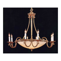 Crystorama Signature 13 Light Chandelier in Olde Brass 9108-OB