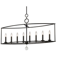 Crystorama 9168-EB Cameron 8 Light 42 inch English Bronze Chandelier Ceiling Light