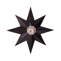 Crystorama 9230-EB Astro 1 Light 12 inch English Bronze Wall Sconce Wall Light alternative photo thumbnail
