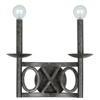 Crystorama 9242-EB Odette 2 Light 12 inch English Bronze Wall Sconce Wall Light