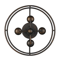 Crystorama 9267-EB Cameron 4 Light 15 inch English Bronze Semi Flush Mount Ceiling Light alternative photo thumbnail