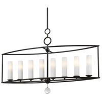 Crystorama 9268-EB Cameron 8 Light 42 inch English Bronze Chandelier Ceiling Light