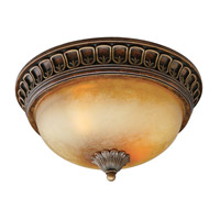 Crystorama Yorktown 2 Light Flush Mount in Espresso 9303-ES photo thumbnail