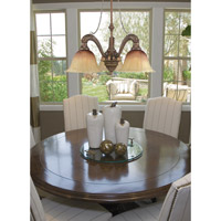 Crystorama Yorktown 3 Light Billiard/Island Light in Espresso 9315-ES photo thumbnail