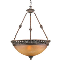 Crystorama Yorktown 4 Light Pendant in Espresso 9317-ES photo thumbnail