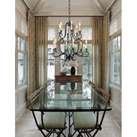 Crystorama Orleans 12 Light Chandelier in Black Iron 9339-BK alternative photo thumbnail