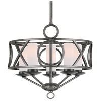 Crystorama Odette 5 Light Mini Chandelier in English Bronze 9445-EB